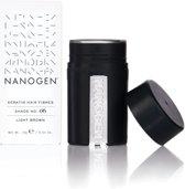 Nanogen Fibers 15 gram kleur Licht Bruin
