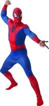 Spider-Man Deluxe Kostuum (Volwassenen) Maat Large (52-54) - Carnavalskleding