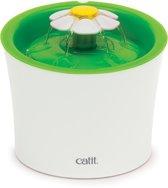Cat-It Senses 2.0 Flower - Drinkfontein Kat - Wit/Groen - 3 L