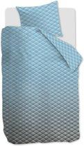 Beddinghouse Vinz - Dekbedovertrek - Eenpersoons - 140x200/220 cm - Blauw
