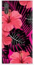 Sony Xperia XZ Hoesje Tropical Flowers