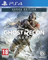 Cover van de game Tom Clancys Ghost Recon Breakpoint Auroa Edition - PS4
