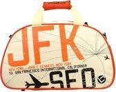 Brabo Travel JFK Schoudertas