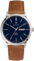Renard Day Date horloge  - Bruin
