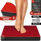Beursprimeur 2019! Wiebelkussen - 2in1 Balance Pad + acupressuur noppen, XXL balanskussen voor evenwicht & stimuleren van de bloedsomloop. Rehabilitatie, fysio & perfecte training! BPX100