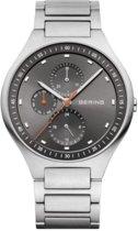BERING 11741-702 - Horloge - Titanium - Zilverkleurig - 41 mm