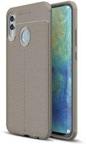 Just in Case Huawei Honor 10 Lite Back Cover Soft TPU Grijs