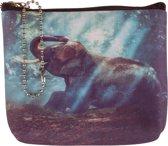 Kleine portemonnee olifant-