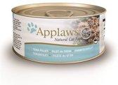 Applaws cat blik adult tuna fillet kattenvoer 70 gr
