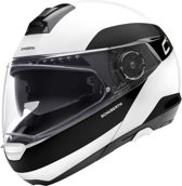 SCHUBERTH C4 PRO FRAGMENT WIT SYSTEEMHELM S