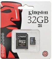 MICRO SD KAART ZWART 32GB+ADAPTER Class 10