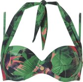 Ten Cate Multiway Bikinitop TC WOW Groen - Cupmaat 36E