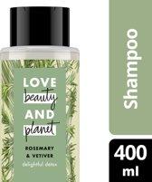 Love Beauty and Planet Shampoo Delightful Detox - 400 ml - Rosemary & Vetiver