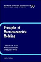 Principles of Macroeconometric Modeling