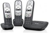 Gigaset A415A - Trio DECT telefoon met antwoordapparaat - Zwart