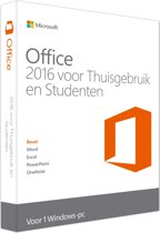 Microsoft Office Home & Student 2016 - Engels