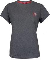 Donnay V-neck shirt - Sportshirt - Dames - Maat XXL - Grijs