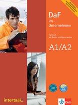 DaF im Unternehmen A1/A2 Kursbuch mit Audios und Filmen online
