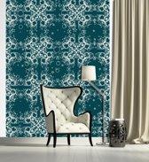 Blue | Green Photomural, wallcovering
