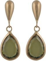 Cataleya Earrings Pear Green