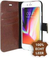 Valenta Bruin Booklet Leather iPhone 8 / 7 / 6s / 6