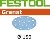 Festool Schuurschijf granat 150mm P80 (10 stuks) (Prijs per stuk)