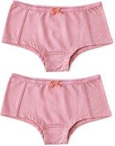 Little Label Meisjes Hipster (2 pack) - roze - Maat 122-128