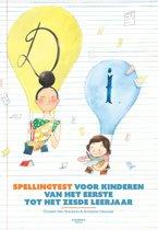 Spellingtest voor kinderen van het eerste tot het zesde leerjaar st 1-6