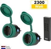 SEC24 HAF780S Draadloze schakelset met afstandsbediening - buiten - 2300W - (NL)
