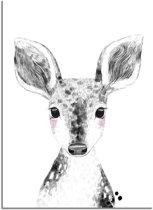 DesignClaud Hert Kinderkamerposter A3 poster zonder fotolijst
