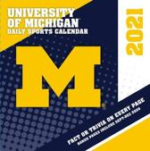 Michigan Wolverines 2021 Box Calendar