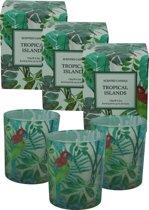 Tropical Islands geurkaarsen - 3 stuks