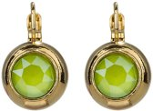 Camps & Camps oorbel-1D829CLI Crystal Lime