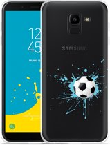 Galaxy J6 Hoesje Soccer Ball