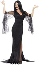 Heksen Halloween kostuum voor dames  - Gothic jurk met kant - Verkleedkleding - Large (44/46)