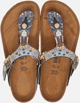 Birkenstock Gizeh slippers blauw  - Maat 35