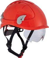Cerva Alpinworker Lichte Bouwhelm Veiligheidshelm met veiligheidsbril - rood