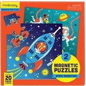 Mudpuppy Magnetic Fun - Space Adventure