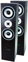 LTC Audio L766-walnoot 3-weg hifi bass reflex luidsprekers 350w