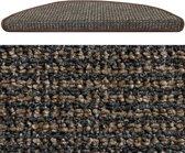HAMAT Siena - Trapmat - 17x56 cm - 15 stuks - Bruin