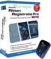 Nedsoft RittenRegistratie Pro 2015 met GPS - Nederlands/ 1 Gebruiker/ DVD