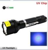 Stevige 3 Watt UV led zaklamp 395 NM
