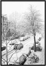 Winter Den Haag Poster - 30x40cm – WALLLL