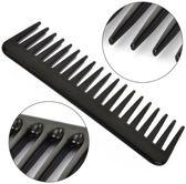 Brede Kam 19 Tanden|Styling Tool |Wide Tooth Comb|Kapper Kam|Haar Kam|Haar Accessoire|Zwart