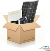 8 Zonnepanelen 295 Wp Trina Solar TSM-295 DD05A.08 - Omvormer Omnik Solar