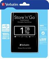 Verbatim Store 'n' Go Ultra Slim - Externe harde schijf - 1 TB