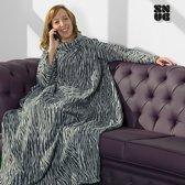 Snug Snug deken met mouwen - Luipaard