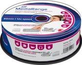 Mediarange Music Inkjet Printable CD-R 80 minuten 25 stuks