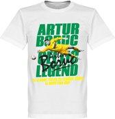 Artur Boruc Legend T-Shirt - Wit - XXL