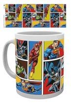 Dc Comics Justice League Grid